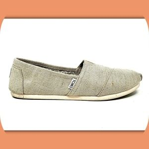 TOMS Canvas Slip On Loafers